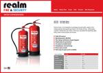 Fire Extinguisher Brochure