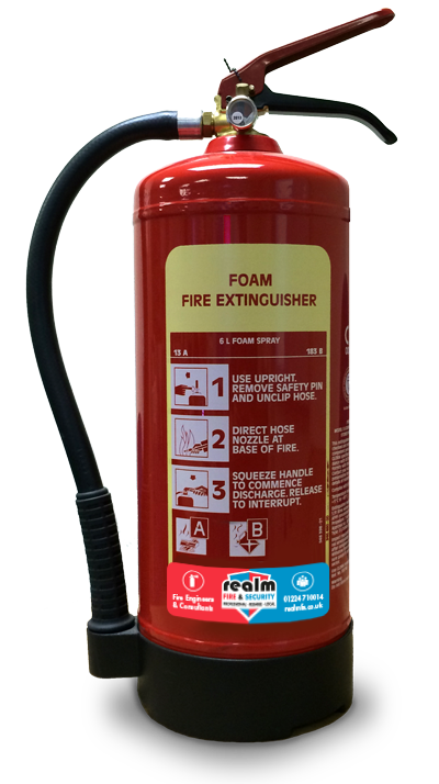 Realm Fire & Security, Fire Extinguishers