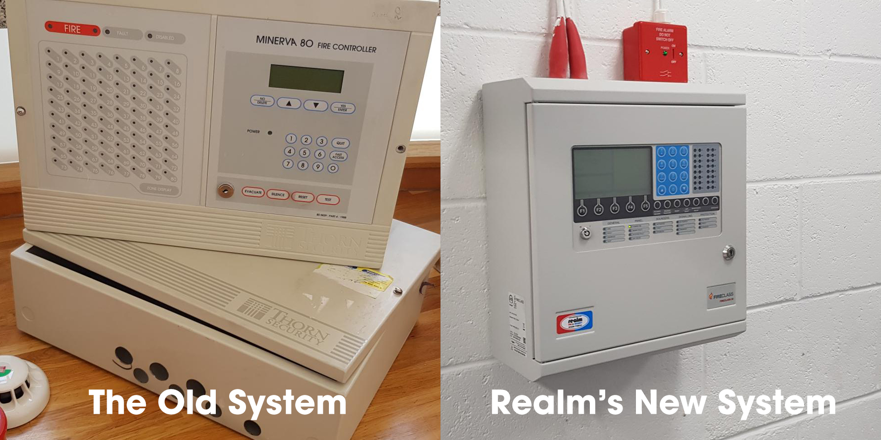 Old and New Security System