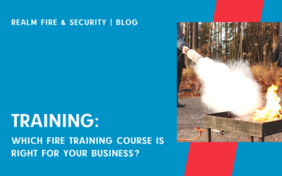 Which fire training course is right for your business?