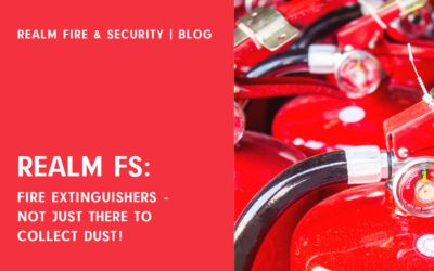 Fire Extinguishers – Not Just There To Collect Dust!